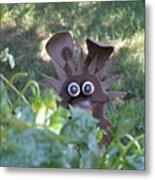 Garden Peek-a-boo Metal Print