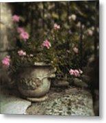 Garden Planter Metal Print