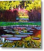 Garden Ponds - Tower Grove Park Metal Print