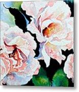 Garden Roses Metal Print