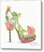 Garden Shoe Metal Print