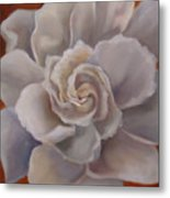 Gardenia  Bloom Metal Print
