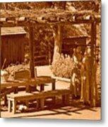 Gardiner Cabin - Circa 1800's Metal Print