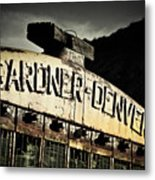 Gardner Denver Metal Print by Merrick Imagery