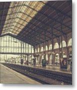 Gare Du Nord Metal Print
