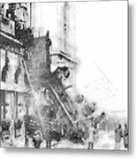 Gare Montparnasse 1895 Metal Print