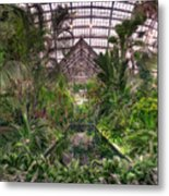 Garfield Park Conservatory Reflecting Pool Metal Print