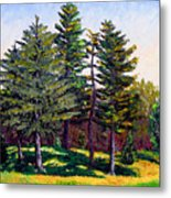 Garfield Trees Metal Print