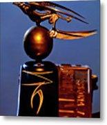 Gargoyle Hood Ornament 3 Metal Print