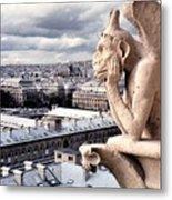 Gargoyle Of Notre Dame Metal Print