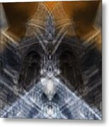 Gargoyle Priestess  Metal Print