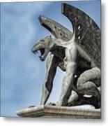 Gargoyle - Puente Del Regn Bridge - Valencia Spain Metal Print