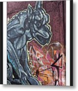 Gargoyle Madness Metal Print