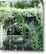 Garlands And Arches Metal Print