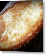 Garlic Bread Metal Print