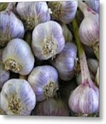 Garlic Bulbs Metal Print by Jen White