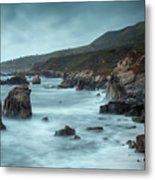 Garrapata Beach, Big Sur, California Metal Print