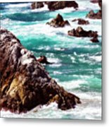 Garrapata Highlands 6 Metal Print