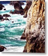 Garrapata Highlands 7 Metal Print