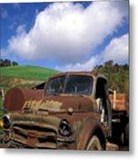 Garrod's Old Truck Metal Print