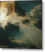Gary Indiana Storm On The Rise Metal Print
