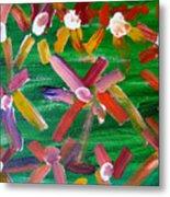 Gary's Flowers Metal Print