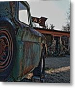 Gas And Truck Metal Print