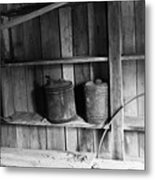 Gas Cans Metal Print