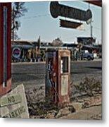 Gas Station Metal Print