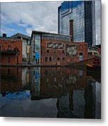 Gas Street Basin Birmingham Metal Print