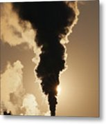 Gaseous Air Pollution Metal Print
