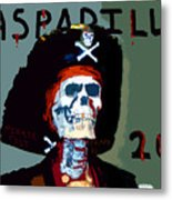 Gasparilla 2011 Work Number Two Metal Print by David Lee Thompson