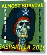 Gasparilla 2016 T Shirt Metal Print
