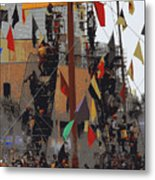Gasparilla Ship Poster Metal Print