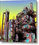 Gasworks Park 1 Metal Print