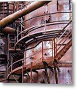 Gasworks Park Metal Print