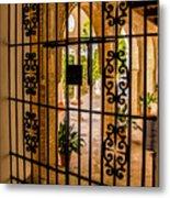 Gate - Alcazar Of Seville - Seville Spain Metal Print