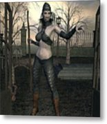 Gate Keeper Metal Print
