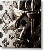 Gate Keeping The Knights Templar Metal Print