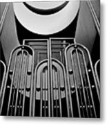 Gate, Marin County Government Complex Metal Print