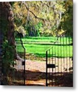Gate To Heaven Metal Print