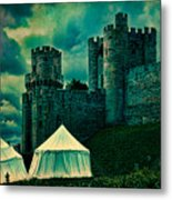Gate Tower At Warwick Castle Metal Print