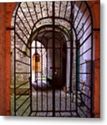 Gated Passage Metal Print