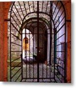 Gated Passage Metal Print