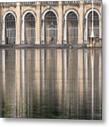 Gated Reflections Metal Print