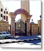 Gates Of Archangel Michael Cathedral Metal Print