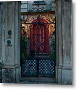 Gates Of Charleston Sc Metal Print