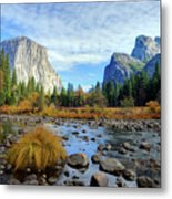 Gates Of The Valley Metal Print