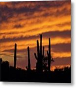 Gates Pass Sunset Metal Print