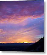 Gates Pass Sunset Metal Print